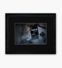 The Coffee Pot Haunting Framed Print