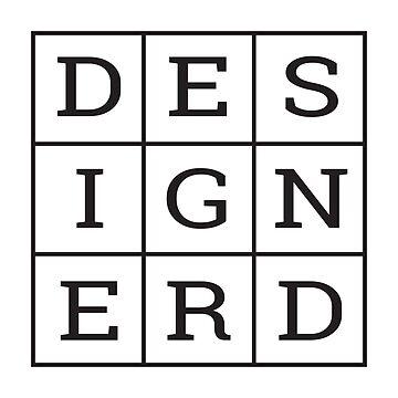 Design Nerd by lonelypixelco
