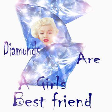 "Diamonds are a Girls best friend ""T"" by windana1"