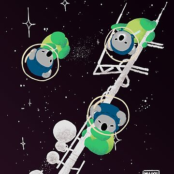 Koalas espaciales de Vierkant