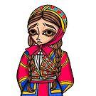 Abito tradizionale di Desulo - Traditional Sardinian dress by Lu1nil
