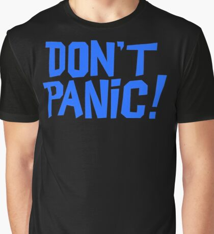 NDVH Don't Panic - Blue 1 Graphic T-Shirt