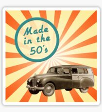 Made in the 50s Sticker