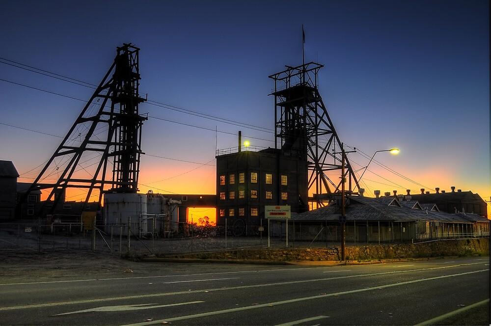 South Mine Sunrise by Rod Wilkinson