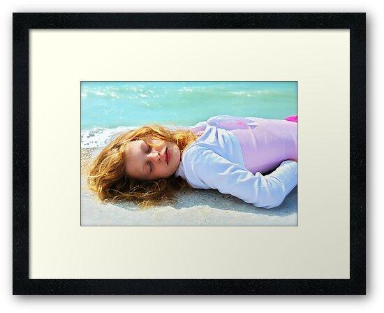 Mermaid Ashore by Ainsley Kellar Creations