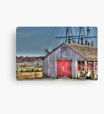 The Rigging Shed Canvas Print