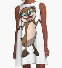 Otter - what? A-Linien Kleid