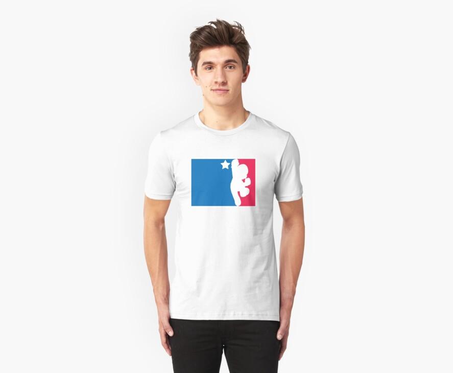Nerd T-Shirt Mario Bros Association 2 (MBA) by Lorrain