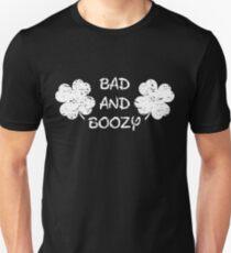 Bad and Boozy | Shake Your Shamrocks Tee | St Patricks Day Unisex T-Shirt