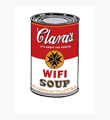 Wifi Soup Photographic Print