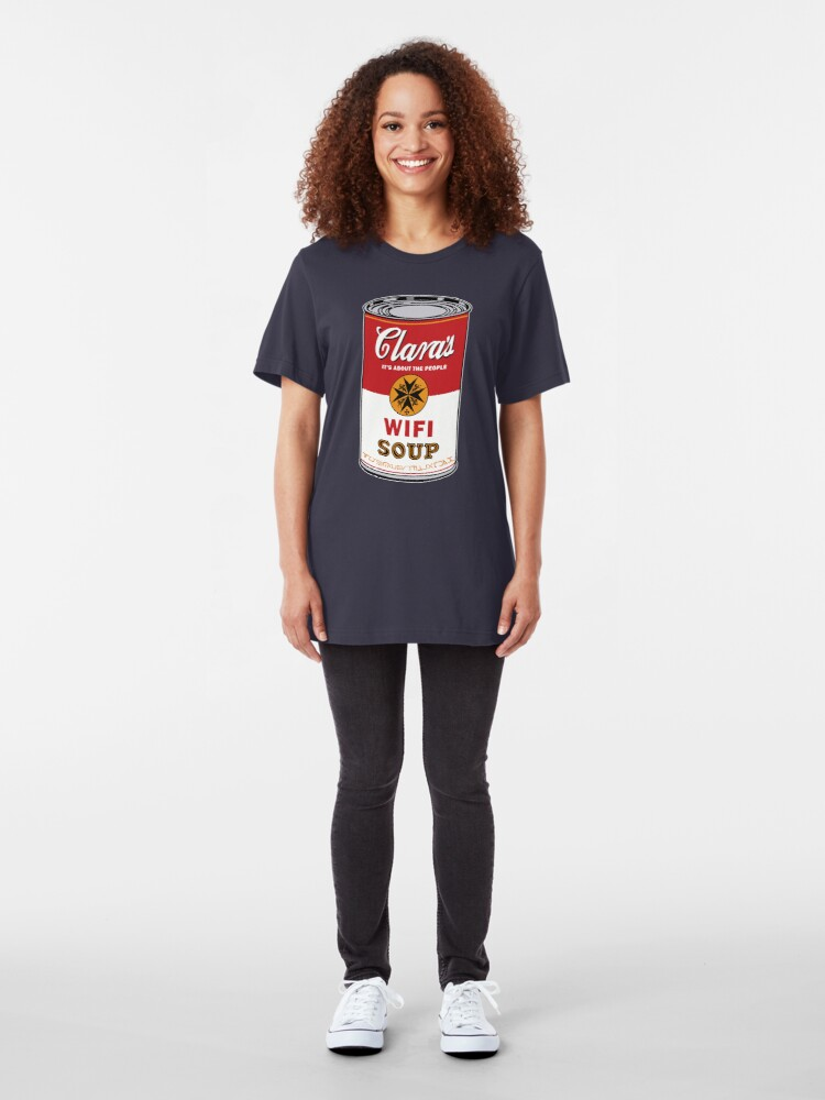 Alternate view of Wifi Soup Slim Fit T-Shirt