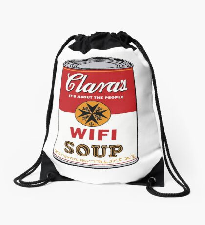 Wifi Soup Drawstring Bag