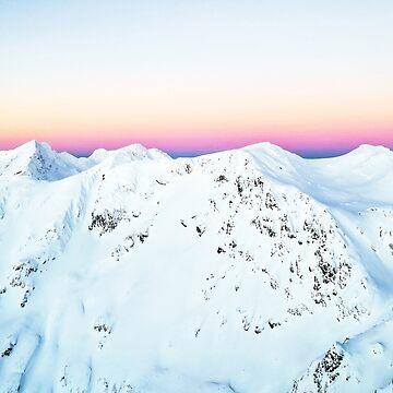 Snow Horizon #photography #travel by 83oranges