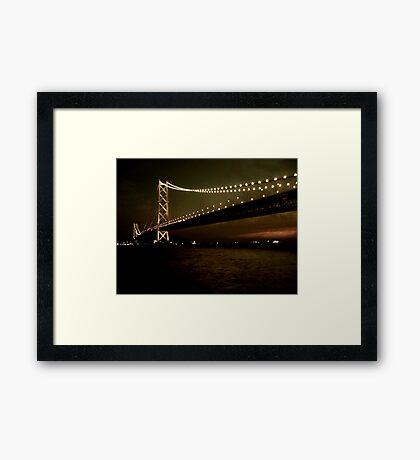 Pearl Bridge Framed Print
