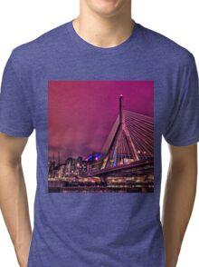 Zakim bridge, Boston MA Tri-blend T-Shirt