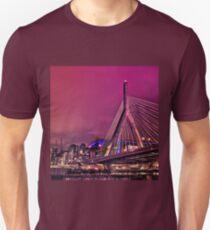 Zakim bridge, Boston MA Unisex T-Shirt