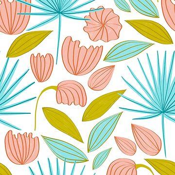Divine Floral #illustration #pattern by 83oranges