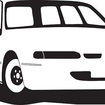VS Commodore Wagon - Black by feralsteph
