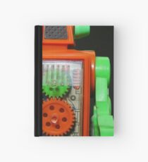 Toy Robot Pucky Hardcover Journal