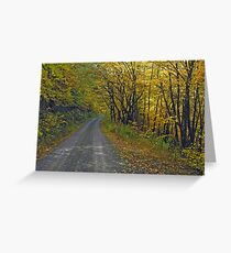 Follow The Yellow Hick Road Greeting Card