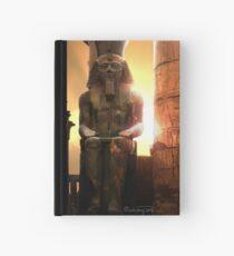 sunset at Luxor Hardcover Journal