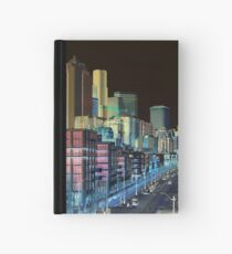 Seattle Alaskan Way Negative Hardcover Journal