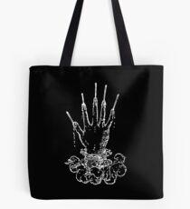 Devises Héroïques - Die Hand des Ruhms (weiß) Tote Bag