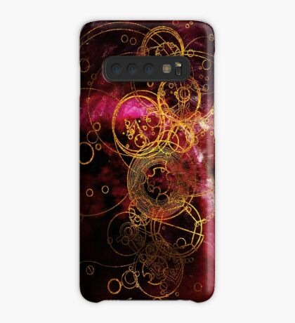 Time Lord Writing (red) Samsung S10 Case