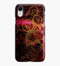 Time Lord Writing (red) iPhone XR Case