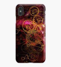 Time Lord Writing (red) iPhone XS Max Case