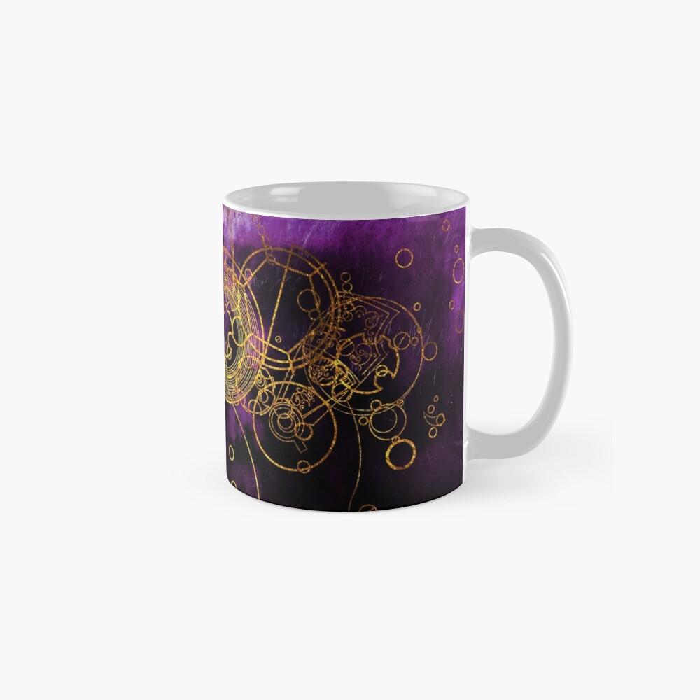 Time Lord Writing (purple) Mug