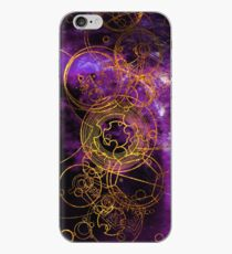 Time Lord Writing (lila) iPhone-Hülle & Cover