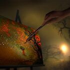 Fall Painting by Igor Zenin