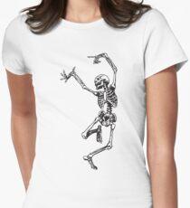 Camiseta entallada Bailar con la muerte