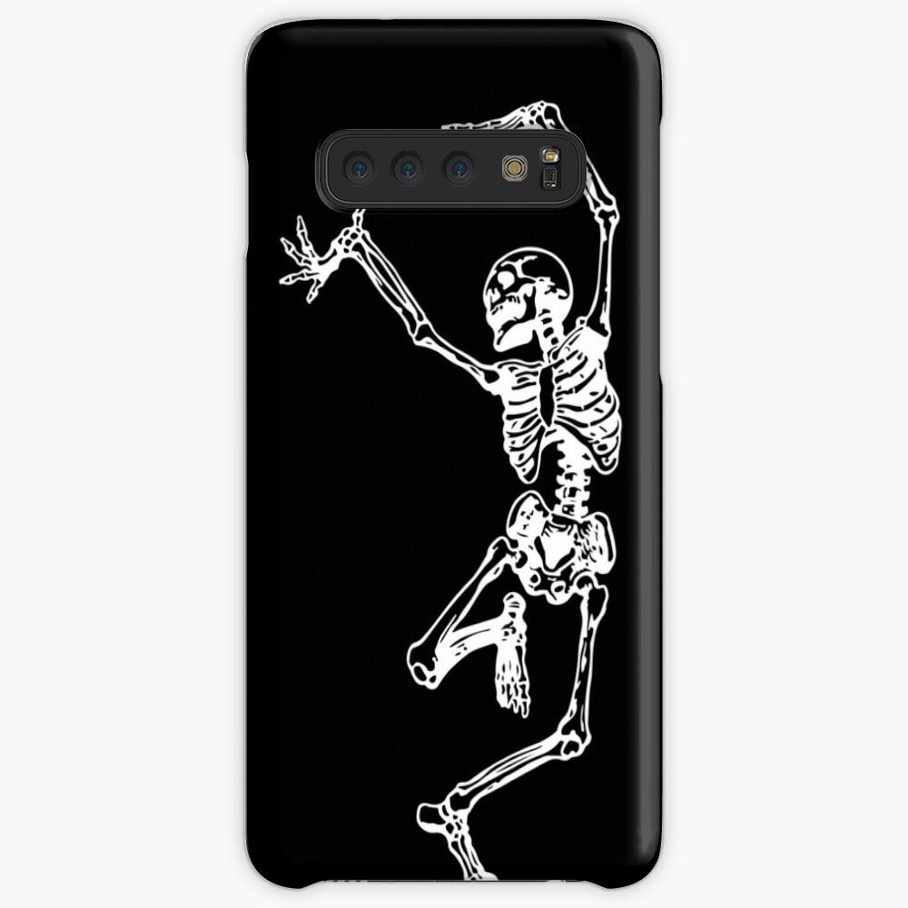 Tanz mit dem Tod (weiß) Hüllen & Klebefolien für Samsung Galaxy