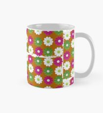 Fresh daisies on a torn bag Mug