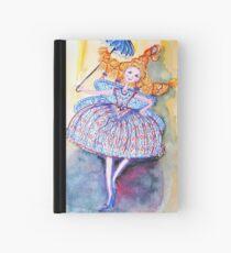Venice Parasol Girl Hardcover Journal