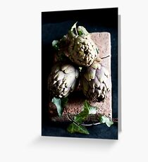 Artichokes Greeting Card