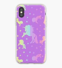 Unicorn Pattern iPhone-Hülle & Cover
