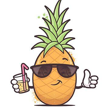 Cool Pineapple by zoljo