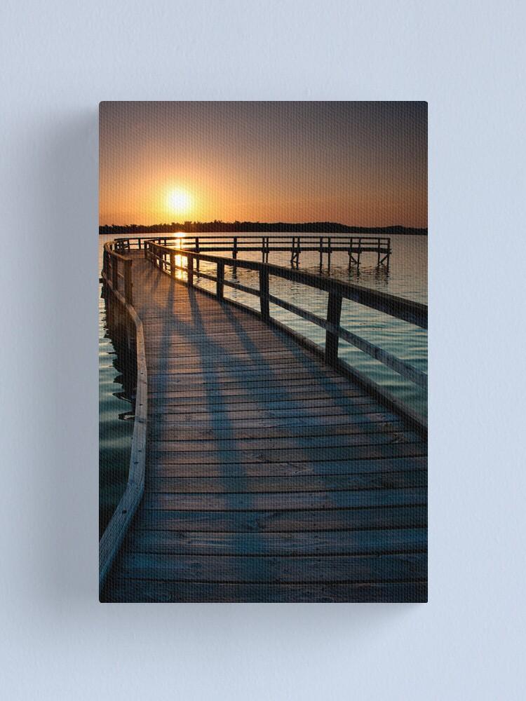 Alternate view of Summer Lake Canvas Print