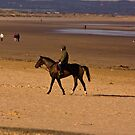 Redcar Beach by Trevor Kersley