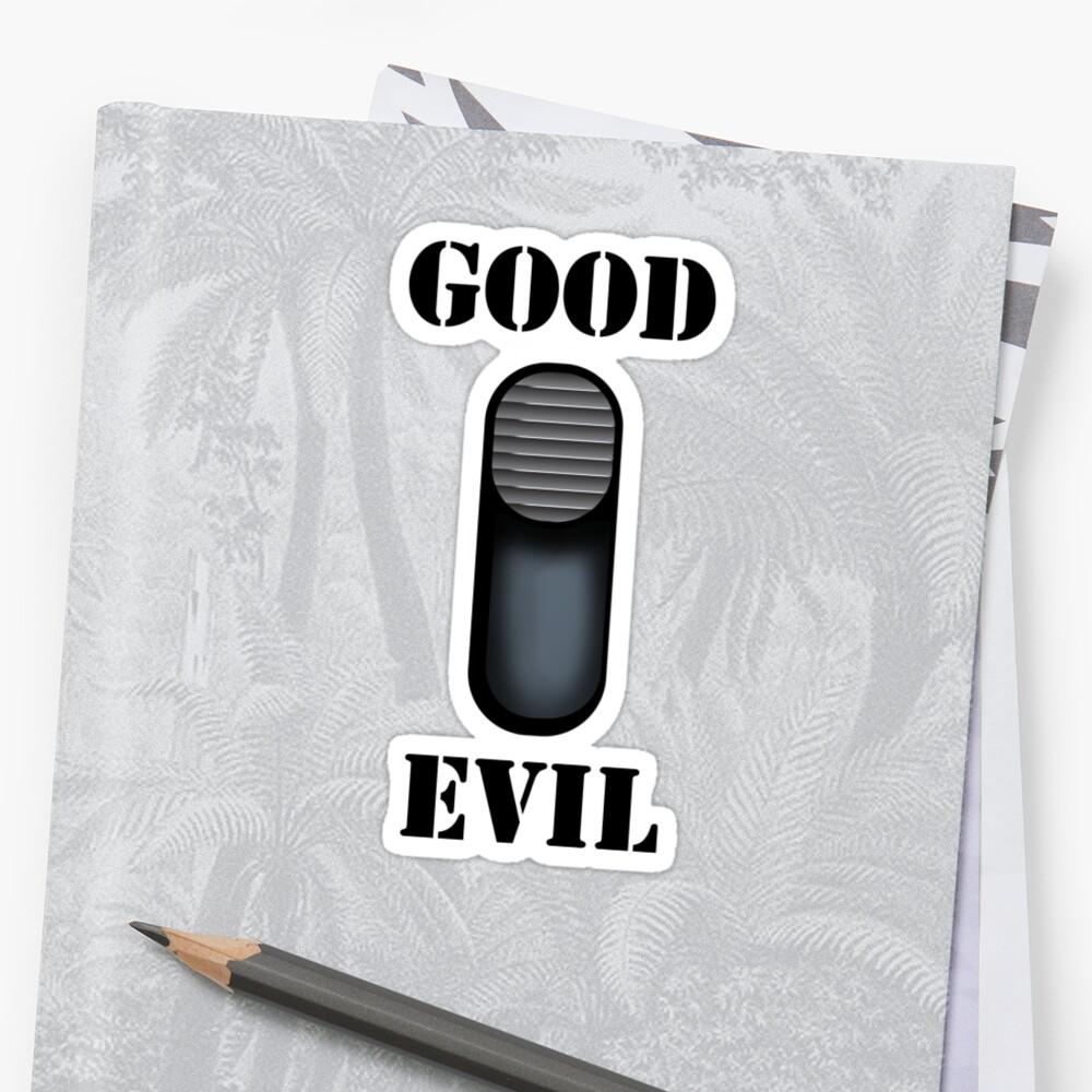 Good/Evil by Iain Maynard