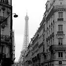 Paris Street by Kent Nickell