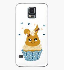 niedlicher Häschen Cupcake Hülle & Klebefolie für Samsung Galaxy