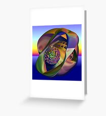 Playgrounds in my dreams Greeting Card