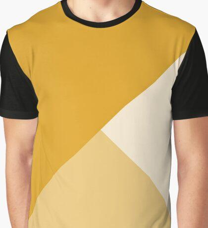 Geometría Gradiente - Mostaza Camiseta gráfica