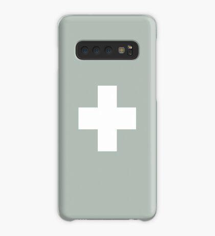 Ceniza suiza de la cruz Funda/vinilo para Samsung Galaxy