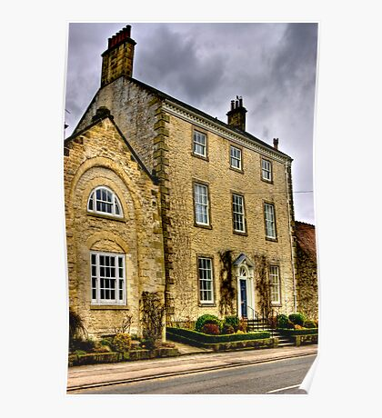 Town House - Helmsley (HDR) Poster