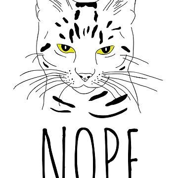 cat nope by FandomizedRose